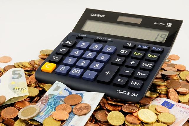 počítání finanční situace