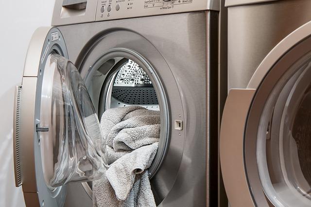 osušky v pračce