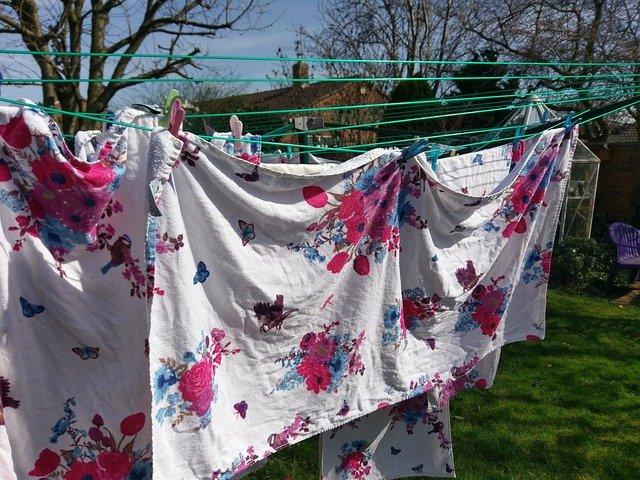 Venkovní sušáky prádla